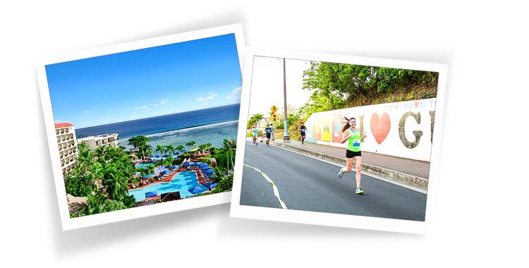 가족, 쉼, 힐링이 있는 괌 마라톤 여행